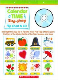 Sing-Along Flip Chart and CD Calendar Time