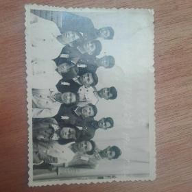 共青团寻旬县第五次代表大会县直机关厂矿代表合影(1963.7.30)
