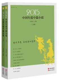 2015中国年度中篇小说(上下)