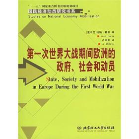第一次世界大战期间欧洲的政府、社会和动员 专著 State, society and mobilization
