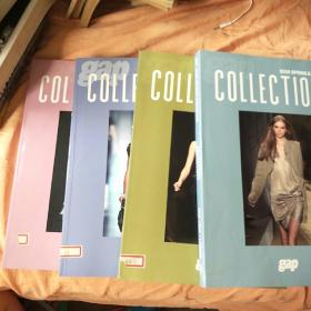 gap 2009AUTUMN &WINTER COLLECTIONS(1-4) 4册合售。书口有贴纸。
