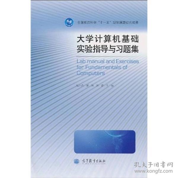 大学计算机基础实验指导与习题集
