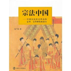 宗法中国——中国宗法社会形态的定性、完型和发展动力