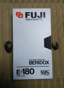 MAXELL万胜E180大1/2VHS二手录像带