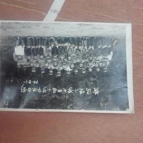 (曲靖越州)黄泥堡小学七四届小学毕业合影