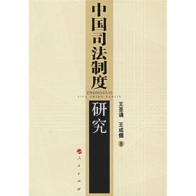 中国司法制度研究