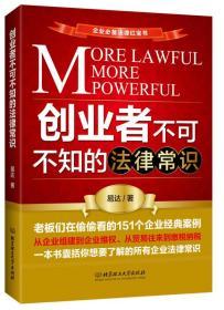 创业者不可不知的法律常识