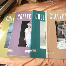 gap 2010 AUTUMN &WINTER COLLECTIONS(1-4)4册合售。书脊有标签。