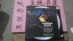 RECORDING BRAHMS   大光盘    op.25----op.26