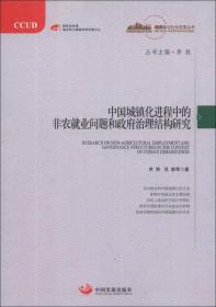 中国城镇化进程中的非农就业问题和政府治理结构研究