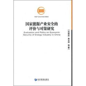 国家能源产业安全的评价与对策研究