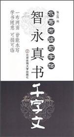 水写布临习字帖:智永真书 千字文
