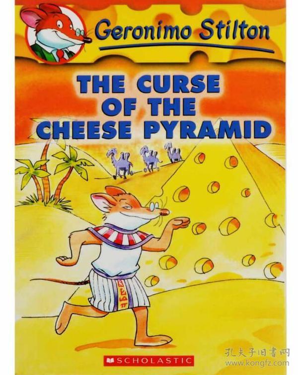 Geronimo Stilton #2: The Curse of the Cheese Pyramid老鼠记者系列2:奶酪金字塔的诅咒 英文原版