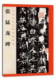 中国历代名碑名帖精选·张猛龙碑