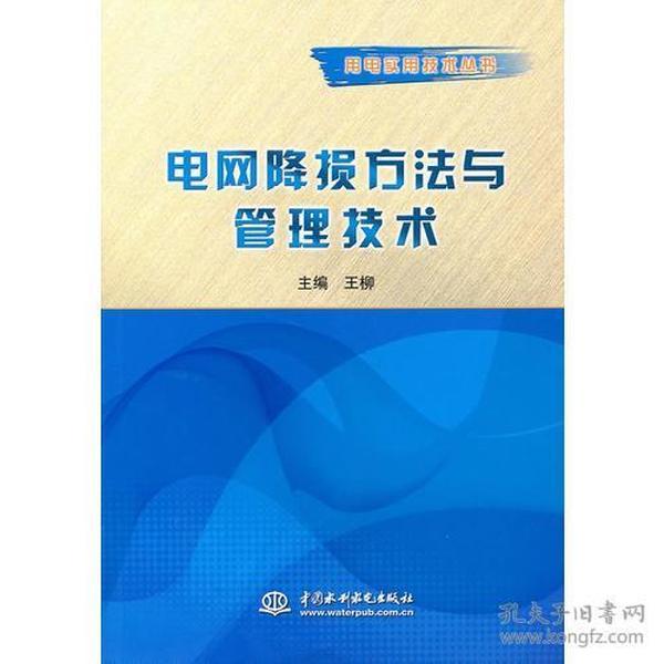 电网降损方法与管理技术 (用电实用技术丛书)