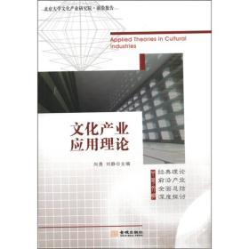 北京大学文化产业研究院·前沿报告:文化产业应用理论