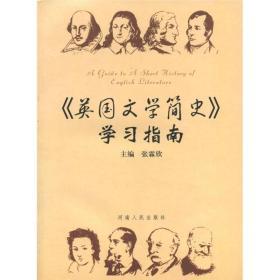 英国文学简史——学习指南张霖欣 主编,杨晓峰 等编写二手河南