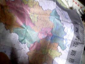 (丝织)2开左右  江西省公路图