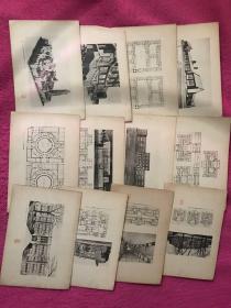 日文活页世界建筑(65张)