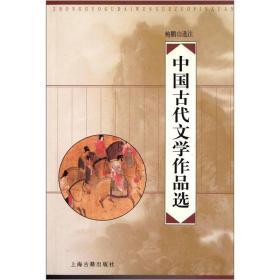 二手中国古代文学作品选鲍鹏山上海古籍出版社9787532535408