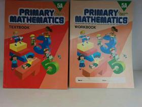 英文原版 小学数学 5A、5B、6A、6B:教材+练习册  共8册 Primary Mathematics 5A/5B/6A/6B  Textbook + Workbook Standard Edition  (原版教材) 英文原版书