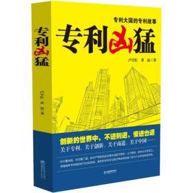 专利凶猛:第一部关于中国企业专利战略的商战小说