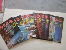 科学画报1990年第1、2、3、5、6、8、11、12期 8本合售【747】