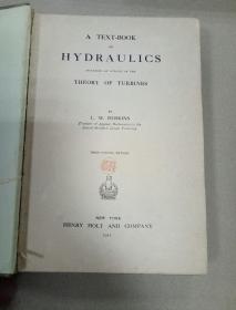 A TEXTBOOK ON HYDRAULICS
