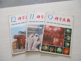 科学画报1978年第9、11、12期 3本合售【747】