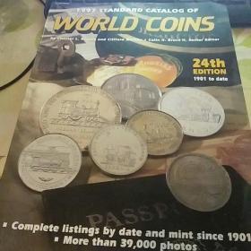 外文版1997年【纪念币图录】 厚册   20号