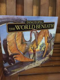 Dinotopia, The World Beneath: 20th Anniversary Edition - 《恐龙帝国》之地下世界  精装大开本 20周年纪念版