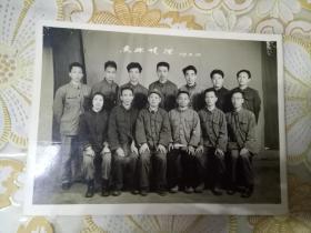 鱼水情深【部队老兵退伍后聚会合影 1973年5月17日拍摄】