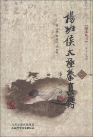 国术丛书:杨班侯太极拳真传
