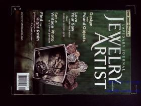 LAPIDARY JOURNAL JEWELRY ARTIST MAGAZINE 珠宝首饰杂志 2008年8月 饰品手链首饰艺术家