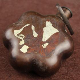 白铜器促销开业精品风水装饰镇宅化煞饰品老人鹅酒壶