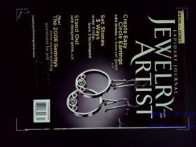 LAPIDARY JOURNAL JEWELRY ARTIST MAGAZINE 珠宝首饰杂志 2008年1月 饰品手链首饰艺术家