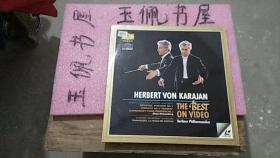 HERBERT VON KARAJAN  THE BEST ON VIDEO  大光盘