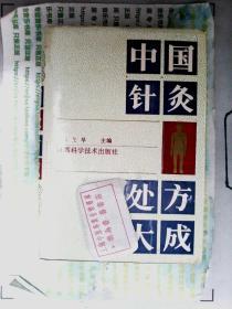 中国针灸处方大成 精装 正版现货0332S