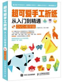 超可爱手工折纸从入门到精通(DVD教学版)