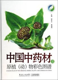 中国中药材及原植(动)物彩色图谱