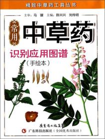 精致中草药工具丛书:常用中草药识别应用图谱(手绘本)