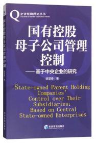国有控股母子公司管理控制姚望春 著