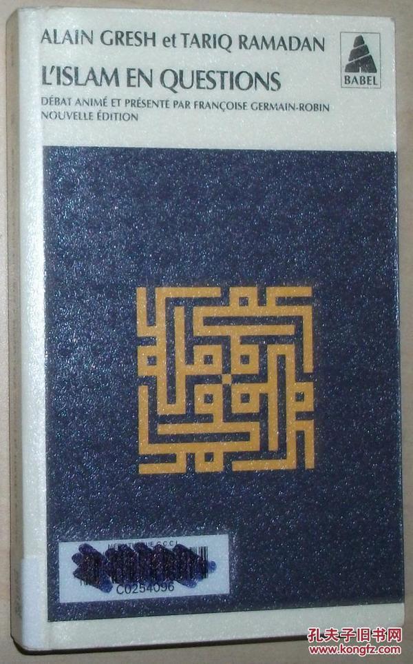 法文原版书 LIslam en questions 伊斯兰教的问题 Poche – de Alain Gresh  (Auteur), Tariq Ramadan  (Auteur)