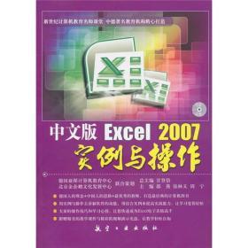 中文版Excel 2007实例与操作