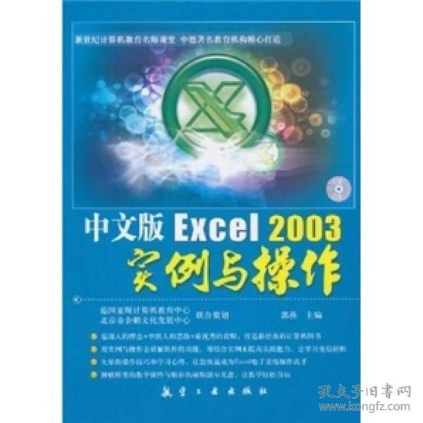 中文版Excel2003实例与操作