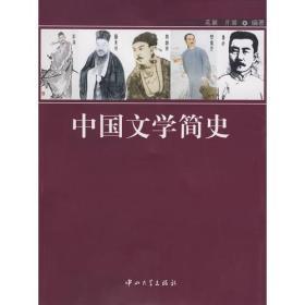 中国文学简史 范颖亓丽 编著 中山大学出版社 9787306031648