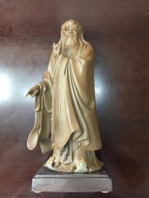 刘泽棉工艺美术大师制作的《老子》立像含证书
