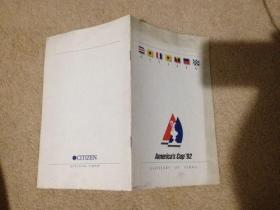 Americas Cup'92 GLOSSARY OF TERMS