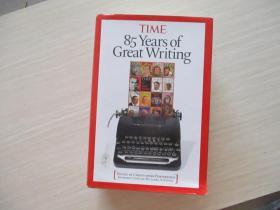 Time: 85 Years of Great Writing 1923-2008(时代周刊85年经典文章选粹)精装!原版书  802