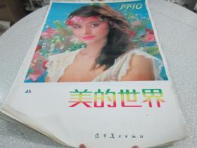 1990年挂历(美女挂历):美的世界